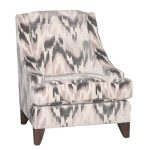 Modern Latte & Charcoal Gray Accent Chair – Spartan