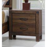 Modern Rustic Brown Nightstand – Belmont