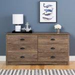 Modern Rustic Drifted Gray Dresser – Salt Spring