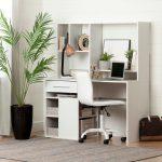 Modern White Desk and Office Chair – Annexe