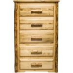 Montana Woodworks 5-Drawer Chest of Drawers – Glacier Country