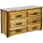 Montana Woodworks 6-Drawer Dresser – Glacier Country