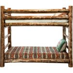 Montana Woodworks Twin-over-Twin Bunk Bed – Glacier Country