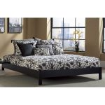 Murray Black Twin Platform Bed