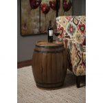 Napa Barrel Side Table