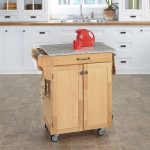 Natural/Granite Kitchen Cart