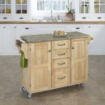 Natural/Gray Kitchen Create-A-Cart