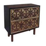 Natural Mango 2 Drawer Chest