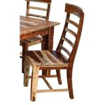 Natural Sheesham Wood Dining Room Chair – Tahoe Collection
