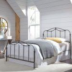 Nickel Classic Contemporary Queen Metal Bed – Braylen