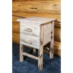 Nightstand with 2 Drawers – Montana
