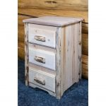 Nightstand with 3 Drawers – Montana