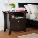 Nightstand with Shelf
