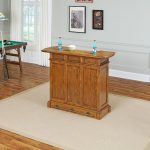 Oak Bar Cabinet – Americana