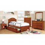 Oak Classic Twin Platform Bed – Lexington