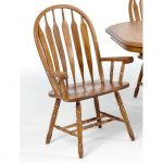 Oak Dining Room Arm Chair – Classic Chestnut Collection