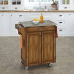 Oak/Gray Cuisine Cart