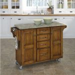 Oak/Gray Kitchen Create-A-Cart