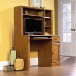 Orchard Hills Carolina Oak Computer Desk with Hutch