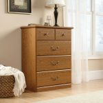 Orchard Hills Oak 4-Drawer Chest of Drawers