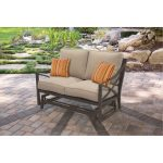 Outdoor Patio Glider Love Seat – Davenport