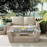 Outdoor Wicker Coffee Table – St Augustine