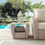Outdoor Wicker Side Table – St Augustine