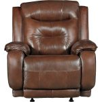 Palazzo Dark Brown Leather-Match Power Lift Chair – Cresent