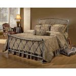 Pewter Full Metal Bed – Silverton