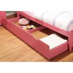Pink Pull-out Trundle
