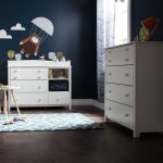 Pure White Changing Table and Chest – Little Smileys