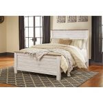Queen/Full Panel Footboard – Willowton
