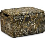 Real Tree Camouflage Upholstered Storage Box