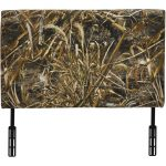 Real Tree Camouflage Upholstered Twin Headboard
