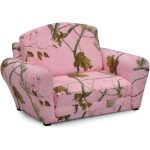 Real Tree Pink Camouflage Sleepover Sofa