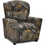 Real Tree Woodsy Camouflage Kids Recliner