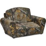 Real Tree Woodsy Camouflage Sleepover Sofa