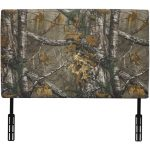 Real Tree Woodsy Camouflage Upholstered Twin Headboard