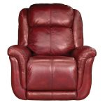 Red Leather-Match Power Glider Recliner – Brookings