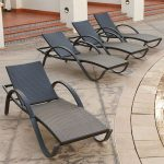 Red Star Chaise Loungers 4 pack