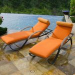 Red Star Traders Set of 2 Chaise Loungers