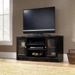 Regent Place Estate Black TV Stand