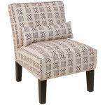 Remmy Cream Armless Chair