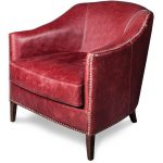 Rouge Leather Chair – Madison
