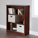 Royal Cherry 3 Shelf Bookcase – Morgan