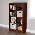 Royal Cherry 4 Shelf Bookcase – Morgan