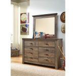 Rustic Casual Contemporary Youth Dresser – Trinell