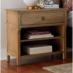 Rustic Casual Toffee Brown Nightstand – Savannah