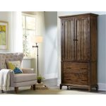 Rustic Classic Cherry Brown Armoire – Mill Creek