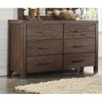 Rustic Contemporary Chocolate Brown Dresser – Dillon